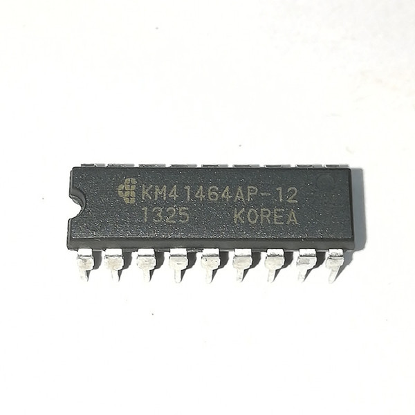 KM41464AP-12 . KM41464AP-15 , KM41464AP , dual in-line 18 pin dip plastic package Integrated circuits . Electronic Components / PDIP18 . ICs