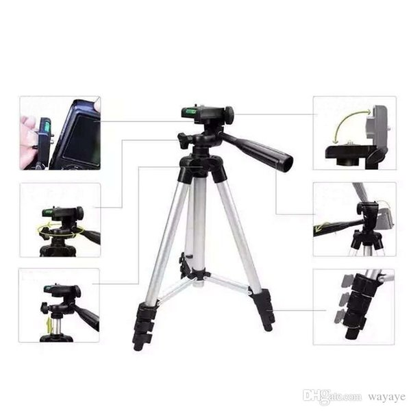 Freies Verschiffen 3110 Portable Digitalkamera Halter Camcorder Stativ Leicht Aluminium Stativ Handy Halter