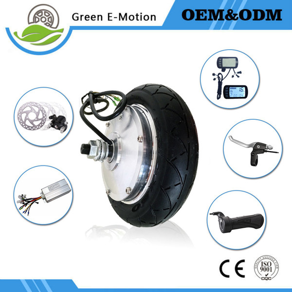 Electric Scooter Electric Bicycle Conversion Kit Brushless Gear Motorized Hub Motor 8inch 36V 200W 250W 300W 350W Wheel Motor Kit