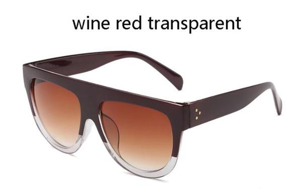 Şarap kırmızı saydam