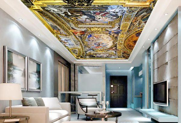 Schön Luxus Europäischen Stil 3D Decke Tapete Jesus Wandbilder Für Das Wohnzimmer  Schlafzimmer Decke Vliestapete