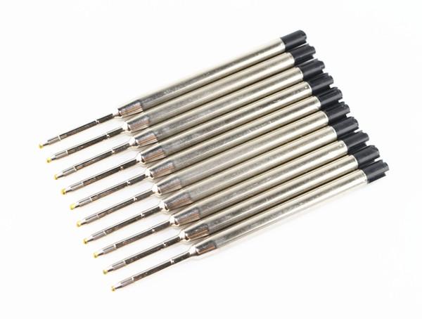 Großhandels-Heißer Verkauf 10PCS Parker Art Standard-blaue Kugelschreiber-Nachfüllungs-Spitze-Mittel-neues
