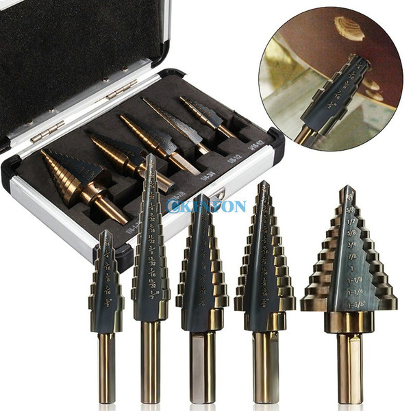"HSS 7//8/"" 4F Core Drill Straight Shank"