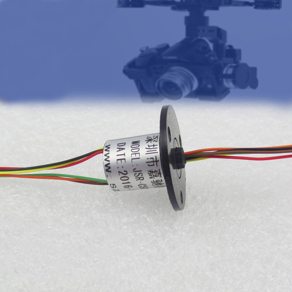 6 Channel 2A Out Dia. 12mm Mini Slip Ring For RC Drone Accessories High Speed Ball Slip Rings