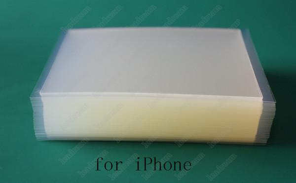 250um starker OCA optischer freier klebender Kleber-Aufkleber für iPhone 6 Plus-LCD-Touch Screen äußeres Glas Freies Verschiffen