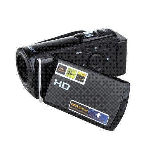 Yeni Dijital Video Kamera DV DVR HDV-601S Full HD 1080 P 20MP kamera 3 '' TFT LCD 16x ZOOM HDMI Ses Kamera Araba dvr