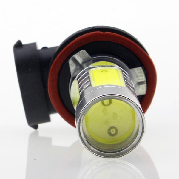 best selling 2pcs H9 LED Car Fog Light 7.5W High Power Head Tail Driving Bulb lamp Source Headlight lamp Xenon White 12V