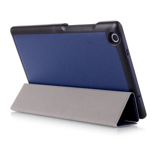 Wholesale-Magnetic PU leather cover case for 2016 Lenovo Tab 3 8.0 850F/M TB3-850M TB-850M Tab3-850 Ultra thin cover case protective cover
