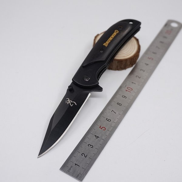 Small 338 Black Browning knives
