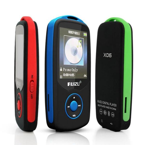 "New Original X06 Bluetooth Sports MP3 music Player 4G 1.8"" Screen 100hours high quality lossless Recorder Walkman FM Ebook"