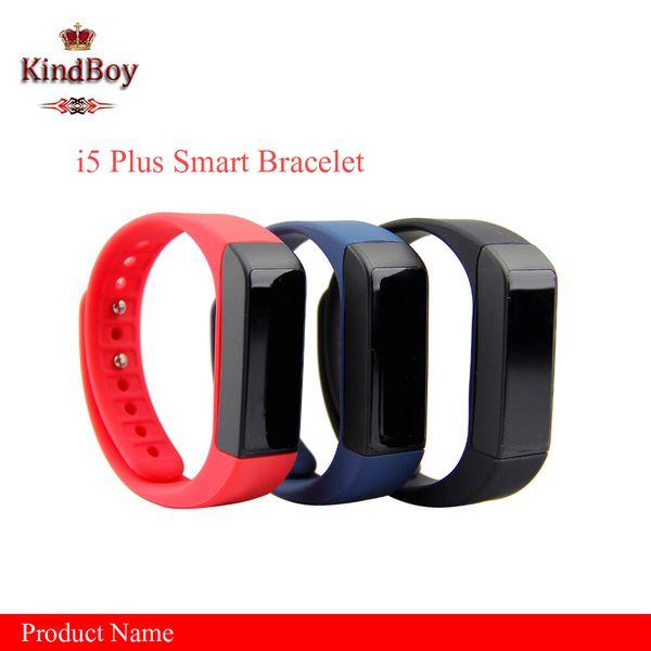 2017 Excelvan I5 Plus Smart Bracelet Bluetooth 4.0 Waterproof Touch Screen Fitness Tracker Health Wristband Sleep Monitor Smart Watch