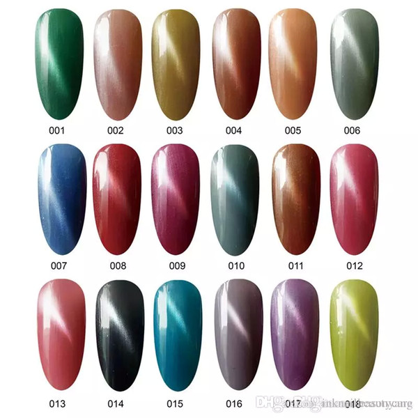 top popular New Arrival 36pcs different colors high quality soak off led uv cat eye gel polish 2021