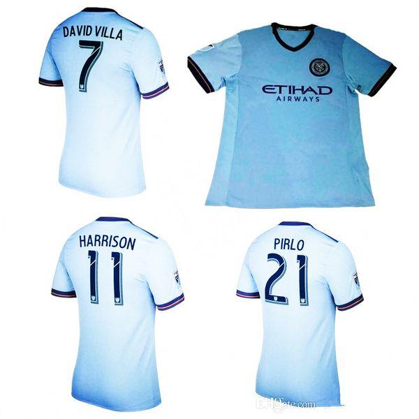 "David Villa MLS New York City FC /""AIR/"" T-shirt Shirt or Long Sleeve"