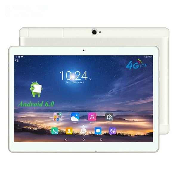 "4g android 6.0 tablet pc tab pad 10 polegada 1920x1200 ips quad core 2 GB de RAM 16 GB ROM Dual SIM Card LTD FDD Chamada Phone 10 ""Phablet"