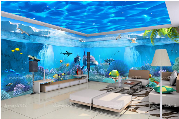 top popular 3d room wallpaer custom mural photo Dreamland world theme pavilion space background wall painting 3d wall murals wallpaper for walls 3 d 2021