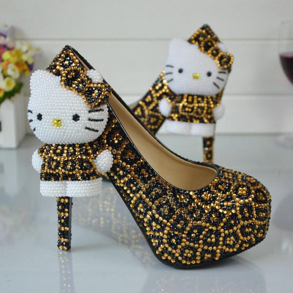 decorazioni per scarpe n°15 pezzi Hello Kitty