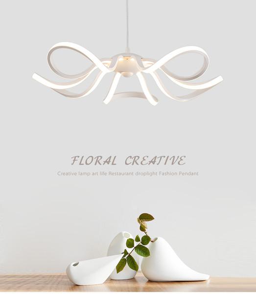 Lampade a sospensione a LED Design moderno Cucina acrilico sospensione appesa lampada da soffitto tavolo da pranzo Illuminazione domestica LED avize lustre