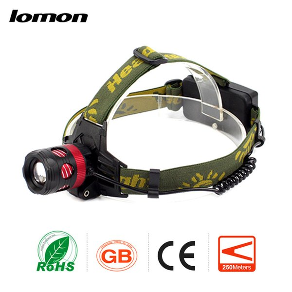 Zoomable LED Headlamp 18650 Rechargeable Head Light Military Super Bright Head Torch Waterproof HeadlIght Fishing Cycling Bike Bicycle Lamp