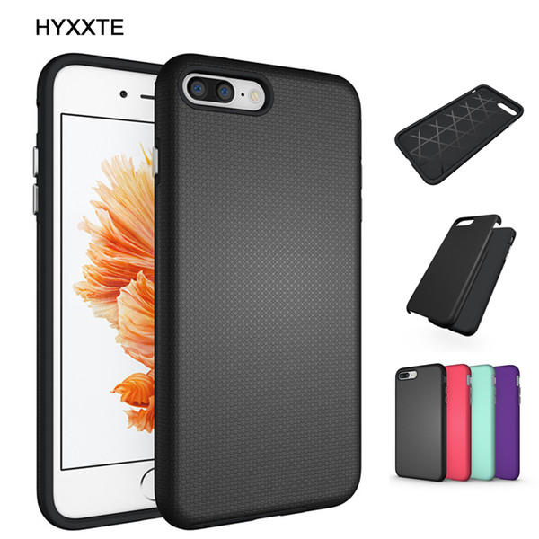 Armor Back Case Cover for Apple iphone 6 6S 7 Plus Hybrid Dual Layer Hard/Soft Heavy Duty Impact Tough Shockproof Protective Shell