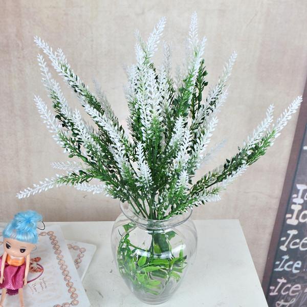 Artificial Lavender Bouquet Home Garden Decoration Wedding Gifts Simulation Plastic Aquatic Plants