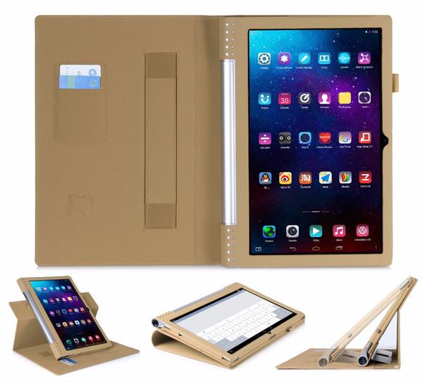 All'ingrosso- Custodia in pelle PU di alta qualità per lenovo yoga 2 pro 1380F Custodia da tavolo per Lenovo Yoga tablet 2 Pro 1380F 13.3
