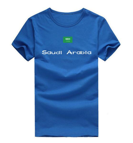Saudi Arabia T shirt Feast day sport short sleeve Party happy tee National flag clothing Unisex cotton Tshirt