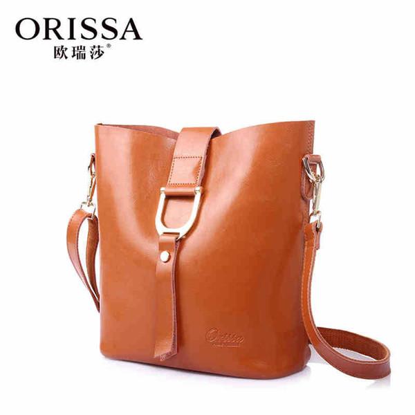 9bdf1927873 Wholesale- 2015 new fashion women bags woman messenger bag genuine leather  handbag high quality handbags