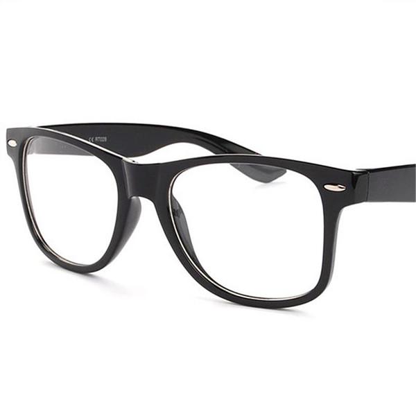 Wholesale- Men Women Optical Eyeglasses Frame Clear Transparent Glasses Glasses With Clear GlassWomen's Men's Frames