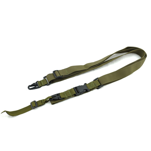 Bandoulière tactique 3 et 2 points pour bandoulière extérieure airsoft avec longueur réglable
