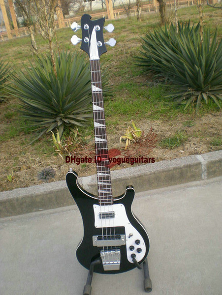 Free Shipping new 4 Strings 4003 Electric Bass Guitar black OEM Musical Instruments