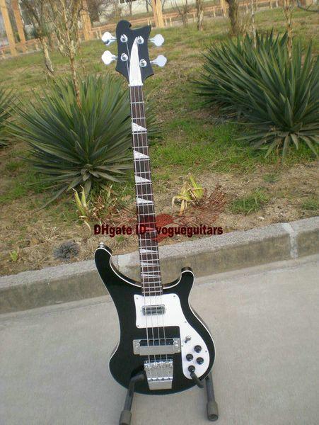 Livraison gratuite nouvelle 4 cordes 4003 guitare basse électrique noire OEM instruments de musique