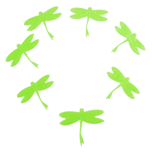 Diy Dragonfly kids wall sticker for kids rooms glow in the dark wall stickers home decor living rooms fluorescent poster art