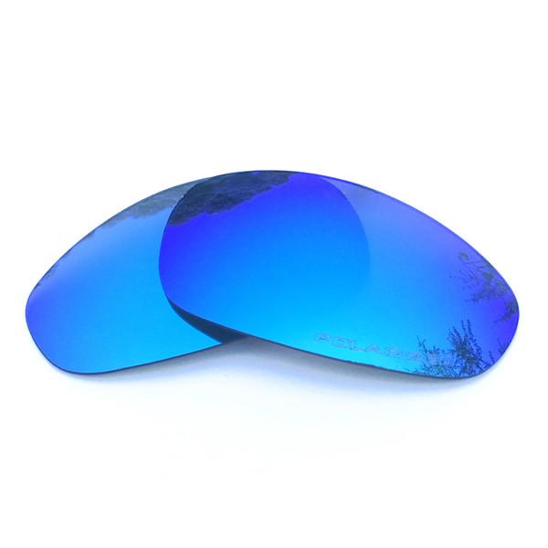 70be809686 Lentes de repuesto polarizadas con espejo azul hielo para Juliet Gafas de  sol Anti Saltwater Anti