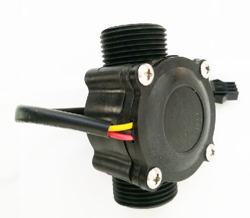 "Hot sale flow Sensor Flowmeter pool float switch indicator Counter for water heater fuel gauge 1-60L/min G3/4"" DN20"