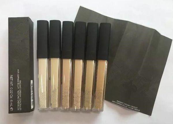 Livraison gratuite NEW Radiant Creamy Concealer Liquid Foundation six couleurs pour choisir la marque Face Makeup 1PCS