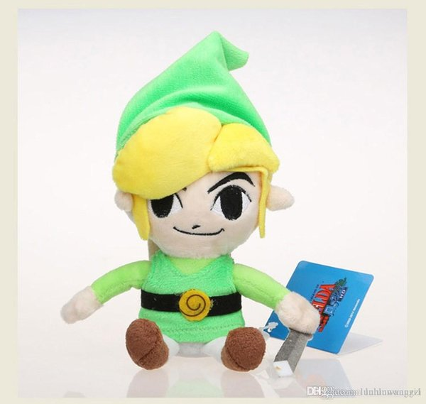 8inch The Legend of Zelda Link Plush Toys Dolls Kawaii Baby Toy Brinquedos For Kids Children Toys