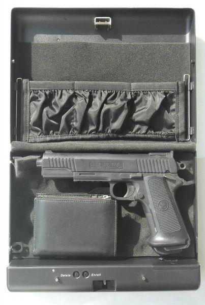 Wholesale- Fingerprint gun safe mini safe box OS500OK-SDT