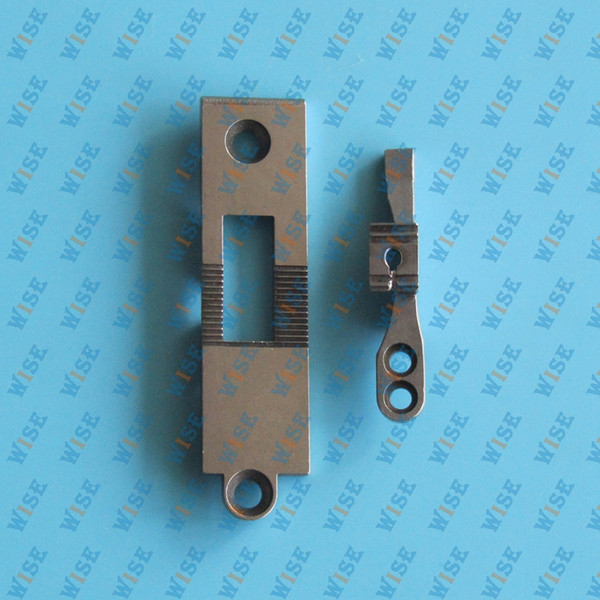 #26746C+26745C=91-026746-04C+91-026745-4C Pfaff 145, 545, 1245 Walking Foot Sewing Machine Needle Plate & Feed Dog FOR PFAFF household use.