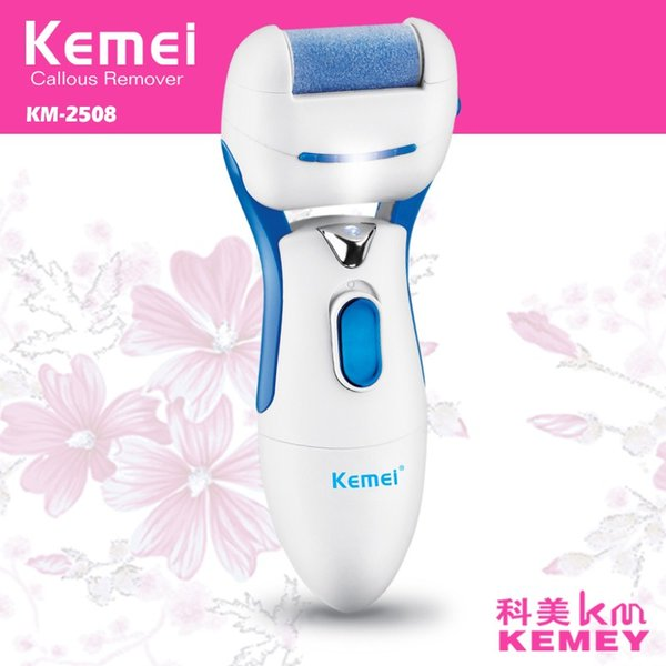 Electric Foot Care Tool Dead Skin Remover Feet Care Pedicure Machine Callus Remover Nail File Massager Replacement Roller Heads KM-2508
