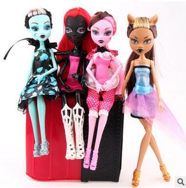 Monster High Dolls Elf Monster High School Girls Dolls HOT Sale Dolls Good Quality Little Girls Toys Birthday Gifts Ship By DHL