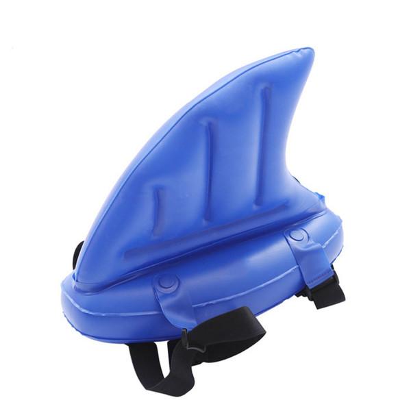 Neue Kreative Schwimmen Artefakt Kinder Wasser Spielzeug Lernen Haifischflossen Copycat Aufblasbare Umkippen Kinder Schwimmbad Schwimmt Ringe Zubehör