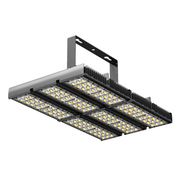 180W 90-265VAC Outdoor LED Tunnel Security Light Flood Lamp 6500K Cool White 90 Degree Beam Angle IP65 Waterproof Protection for Stadium