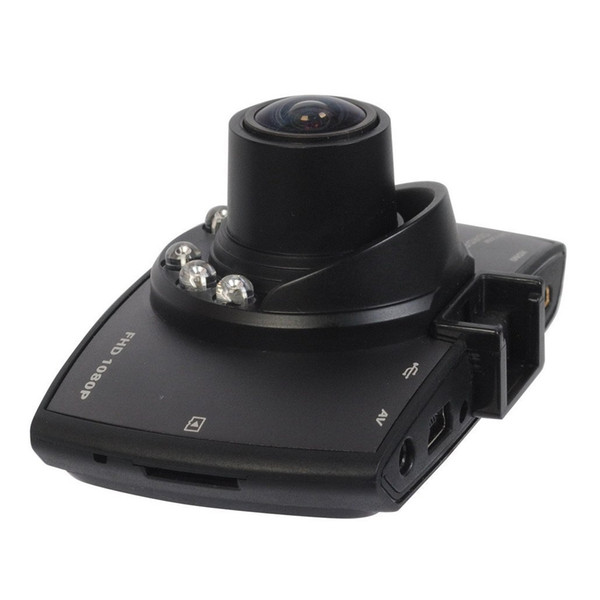 2.7 Inch HD Display Dash Cam Camera Car DVR Novatek PZ906 G30 Motion Detection One Key Lock Cycle Recording G-Sensor IR-Lights EMS