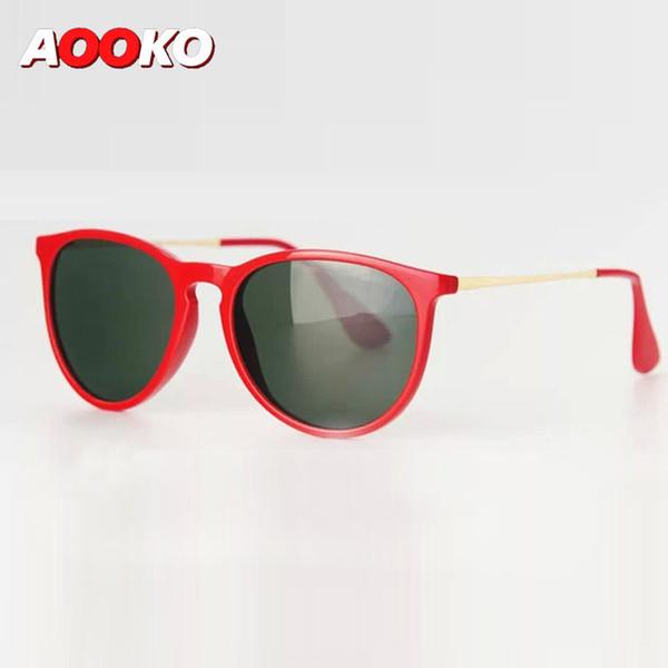 AOOKO Moda Erika Moda Polarizada Gradiente Sunglasses Vintage