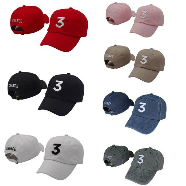 Acquista Snapback Caps Chance 3 Il Rapper Kanye Tappi Streetwear