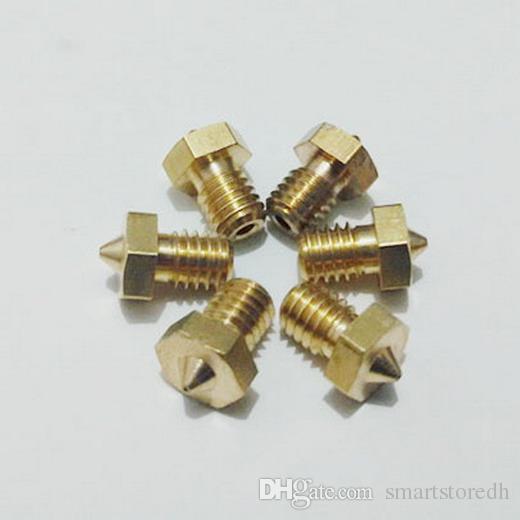 0.3mm&0.4mm Copper Extruder Nozzle Print Head for Makerbot MK8 RepRap 3D Printer B00138 JUST