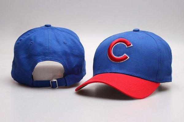 Wholesale Cubs Golf Visor Baseball Snapback hats brands out door Sun caps men's Cheap Flat Bill Sport fashion adjustable Bones in blue