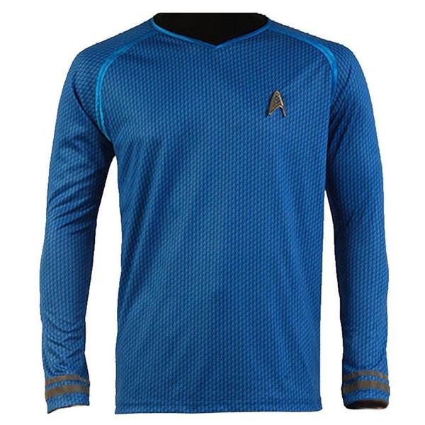 Kukucos Movie Figure Star Trek Darkness Star Captain Kirk Costume Shirt Uniform Three Colours For Choice