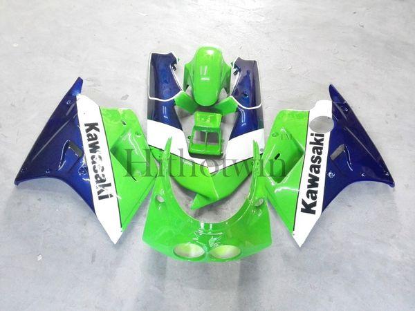 Aftermarket ABS Plastic Fairing For Kawasaki ZXR250 1990 1992 ZXR 250 90 91 92 green Bodywork set