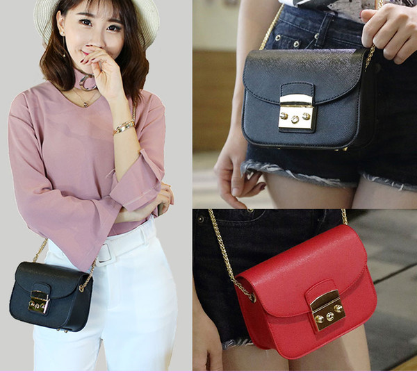 2017 Hot Sale Women bag Mini Metropolis Bag Ladies Leather Women Messenger Bags Handbags Women Famous Brands Small Crossbody Bags
